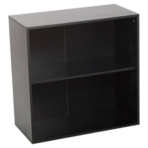 2 Ebenen Holz Aufbewahrungs Schrank Seite Möbel Schlafzimmer Flur Regal Einheit