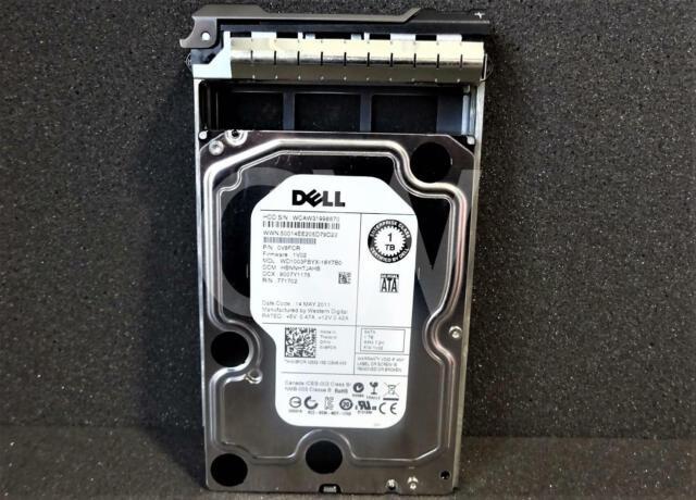 Dell FX0XN EQUALLOGIC 1TB SATA 7.2K 3.5