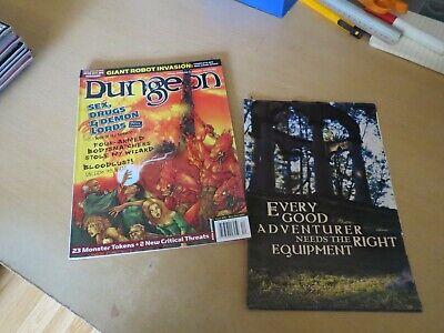 D&d Pathfinder Wotc Paizo 3.5e Dungeon Mag #95 N. Token Nrmint-mostra Il Titolo Originale