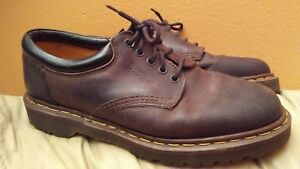 Dr Taglia Brown Us Made England 10 Oxford In Martens Inghilterra 9 0rqSx0