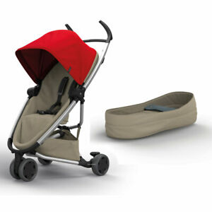 Brand New Quinny ZAPP Flex Pushchair Red on Sand & Cocoon RRP£374
