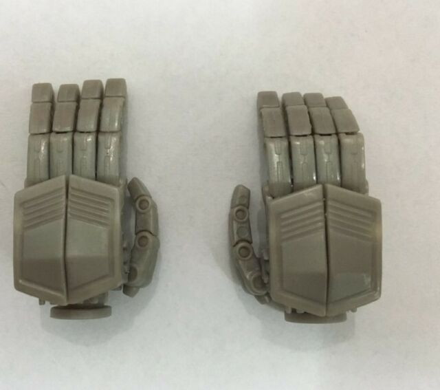 UFO Grey Poseable hands For DOTM Optimus Prime,In stock!