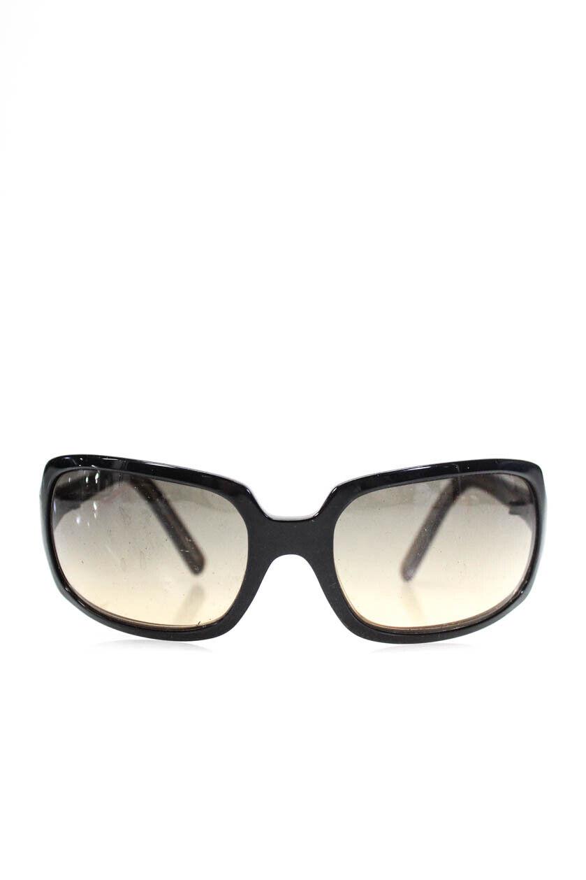 Christian Roth Black Oval Sunglasses