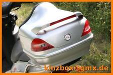 Rollerkoffer 014 Silber Motorradkoffer Standlicht + Bremslicht Top Case Topcase