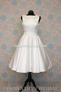 1619-UK-short-knee-tea-calf-length-wedding-dress-satin-pearls-details-any-size