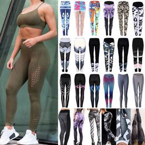 9144e9c746ad3f Image is loading UK-Women-039-s-Compression-Leggings-Gym-Sportswear-
