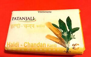 bathing Soap Patanjali Haldi Chandan Kanti Body Cleanser Pack Of 3 150 Gm