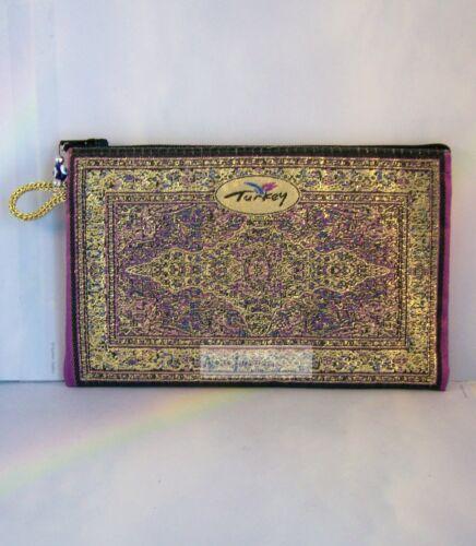 Turkish Zipper Bags Handmade in Various Styles /& Colors