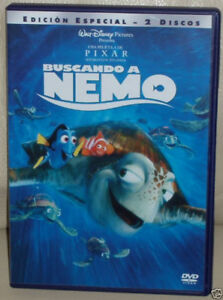 Finding-Nemo-Edition-Special-2-DVD-Disney-New-Sealed-Sleeveless-Open-R2