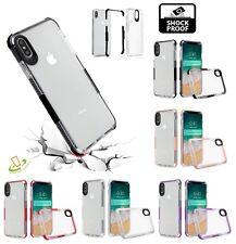 Cover Apple iPhone XS Max Protezione 360° Silicone Force Case Urban Trasparente