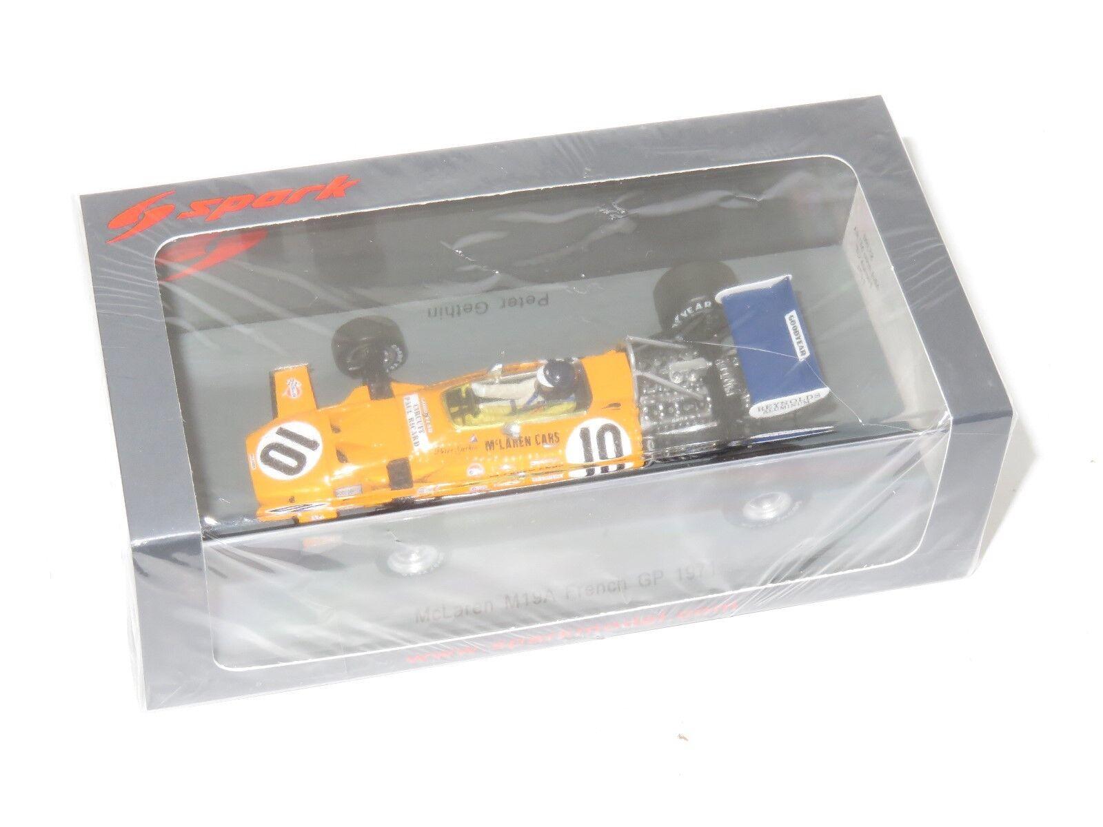 Vous êtes en bonne santé pour la nouvelle année. 1/43 McLAREN M19A French Grand Prix 1971 Peter Gethin | En Ligne Outlet Store