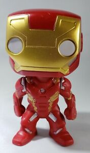 FUNKO POP STYLE IRON MAN Figurine Toy Collectible Avengers Marvel Comic Heroes