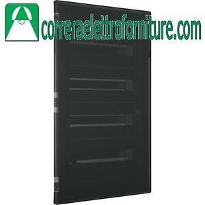 Centralino quadro elettrico incasso 72 moduli fume din for Quadro esterno 72 moduli