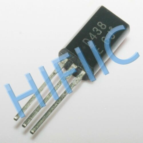 5PCS//10PCS 2SD438 D438 Low-Frequency Power Amp Applications TO92L
