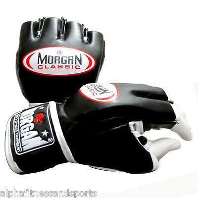 Morgan Classic MMA Gloves Boxing Muay Thai UFC Mitts Bag Sparring Fight Punching