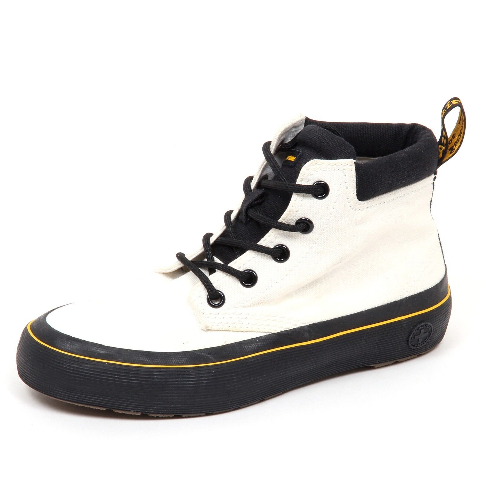 D9814 (without box) sneaker donna canvas DR. MARTENS vintage ivory shoe woman
