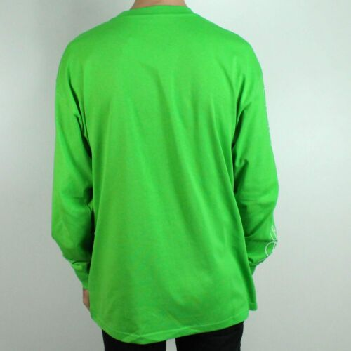 Green M T In shirt Polar lunga manica Racing Tee Taglia Hw1pfaHq
