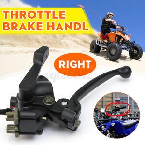 Right-Throttle-Brake-Lever-Handle-Bar-For-50cc-70cc-90cc-110cc-125cc-Quad-ATV-US