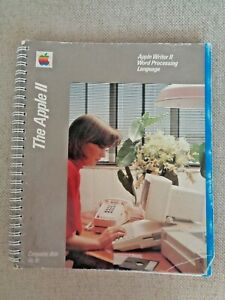 Vintage-1984-Apple-II-Writer-Word-Processing-Language-Computer-Program-Letters