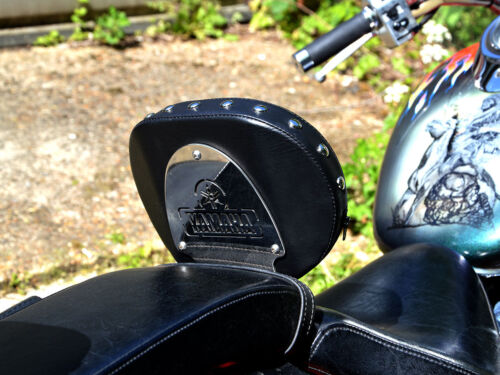 Studded Driver Rider Backrest Yamaha Dragstar XVS 1100 Vstar XVS1100 CUSTOM