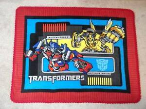 Picture Panel Fleece Blanket Transformers Optimus Prime