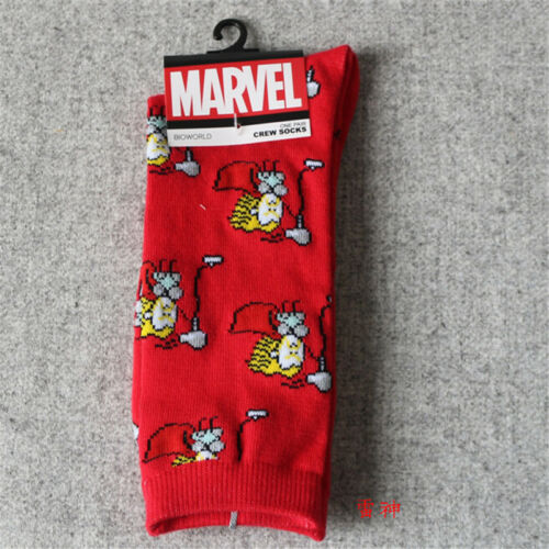 Fashion Unisex Anime Cosplay Super Hero Coverall Boys Girls Long High Socks Gift