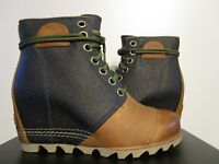 Womens Sizes 9.5-11 Sorel 1964 Premium Leather Wedge Anthropologie Ankle Boots
