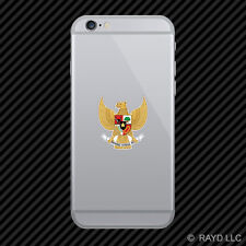 Indonesian National Emblem Cell Phone Sticker Mobile Indonesia flag IDN