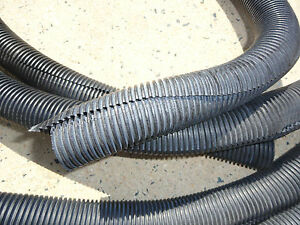 """25 AVAILABLE PANDUIT 1/"""" BLACK WIRE CORRUGATED TUBING 100FT CLT100F-C20"""