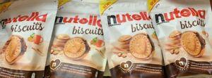 4x-Ferrero-Nutella-Biscuits-knusprige-Waffeln-m-Nutella-Kekse-je304g-Neu-Snack