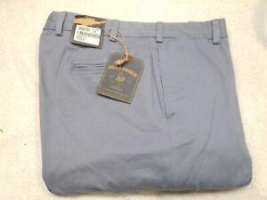 Bills-Khakis-M2-Vintage-Twill-Flat-Front-Khaki-Pants-NWT-38-Waist-Unhemmed-155