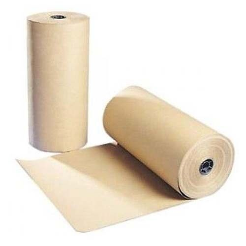 """30"""" 30 lbs 1200 Ft Brown Kraft Paper Roll Shipping Wrapping Cushioning Void Fill"""