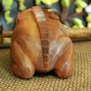 Holz-Frosch-Raspel-Percussion-Musikinstrument-Ton-Block-amp-Stick-Supplies-F7M4