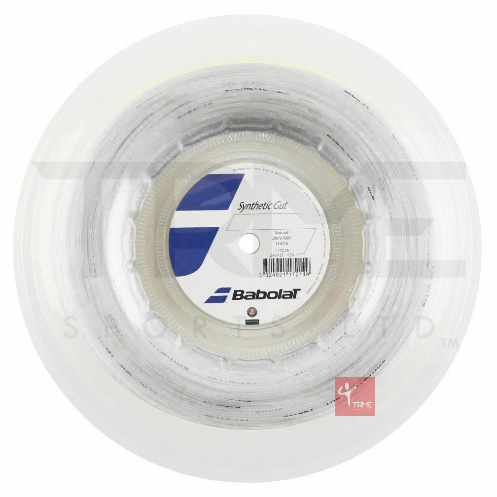 Babolat Synthetic Gut 200m Tennis String Reel 17   1.25mm