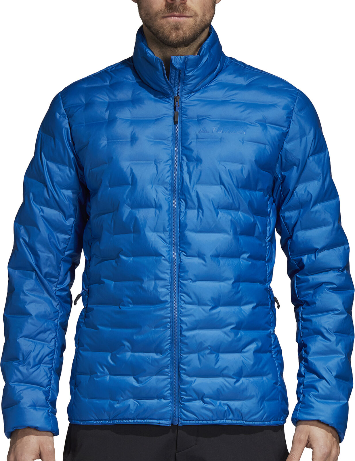Adidas Terrex light mens Down Jacket-azul