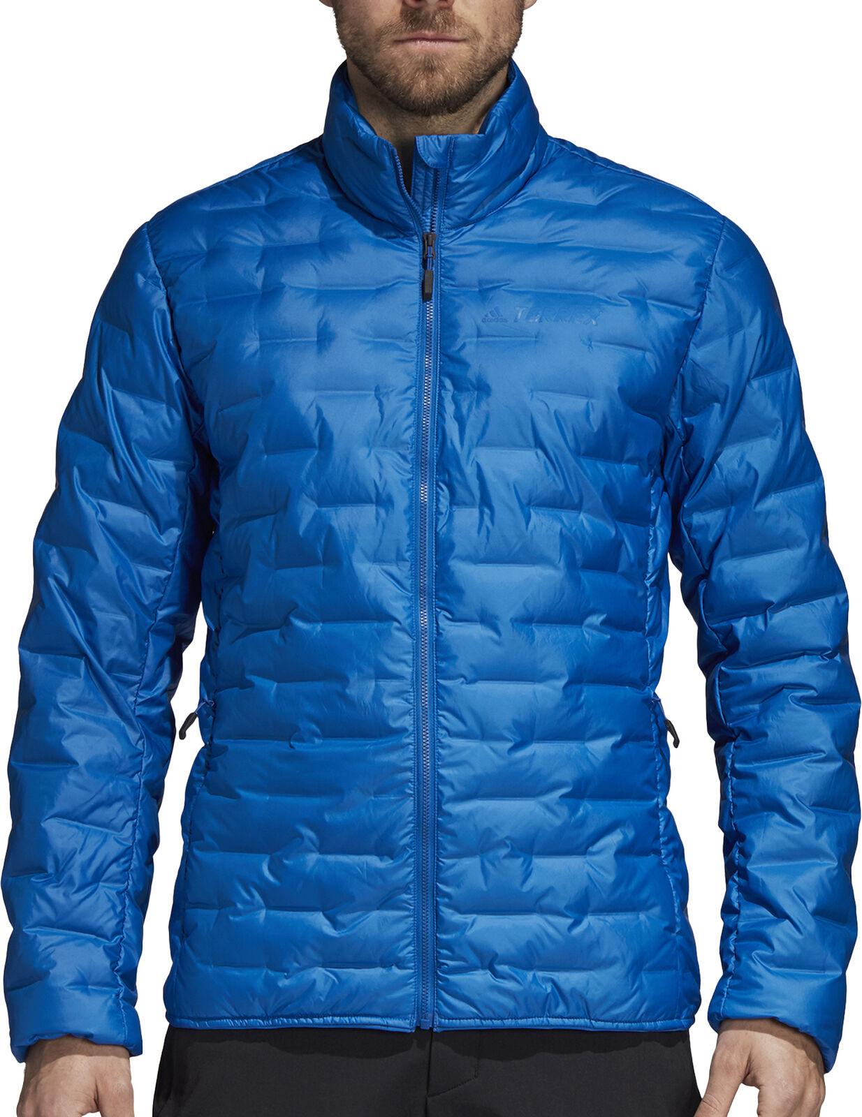 Adidas Terrex  light De los hombres Down Jacket-azul  Web oficial