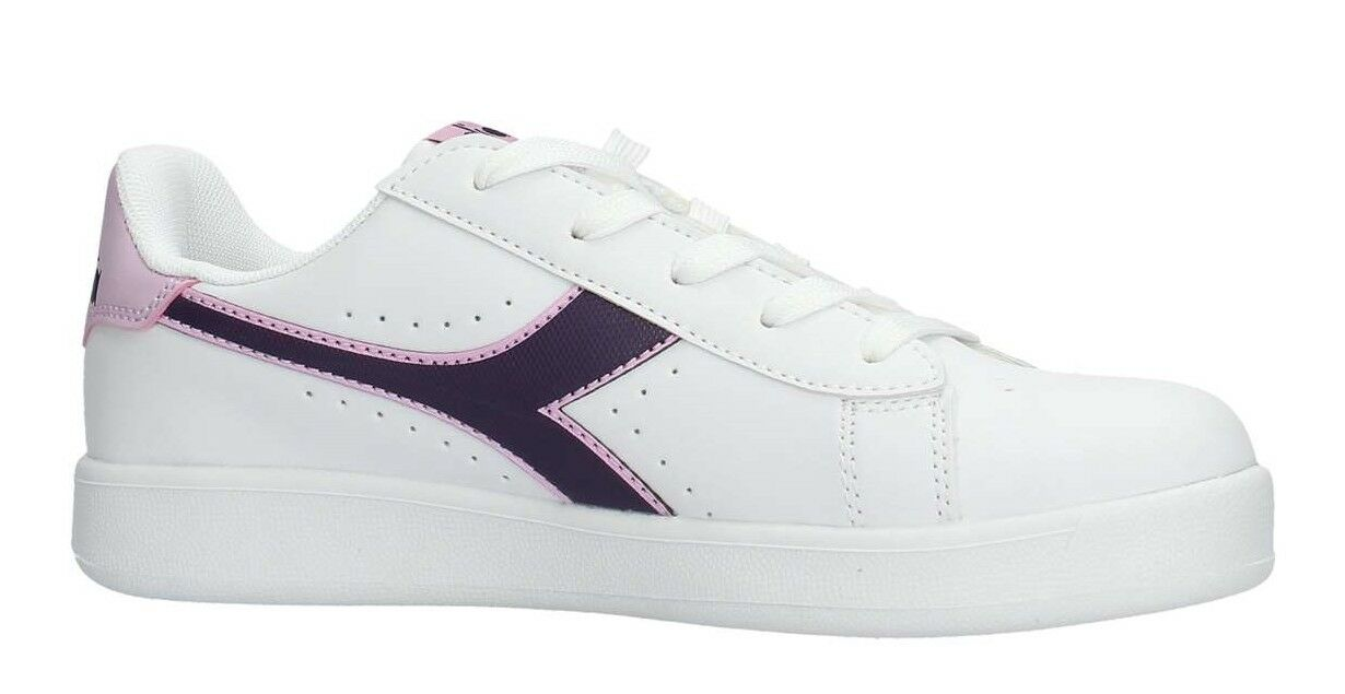 Diadora Game P GS Chaussures Femmes Stan Sports SMITH Baskets Cuir Blanc Run
