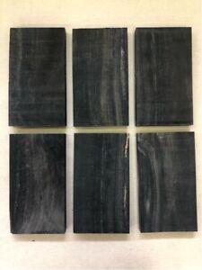 Schwarzes-Ebenholz-Ebony-Drechselholz-Tonholz-Tonewood-150-x-85-x-15mm