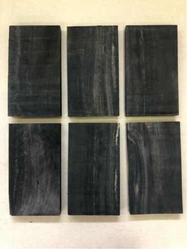 Noir ébèneEbonydrechselholzTonholztonewood150 x 85 x 15 mm