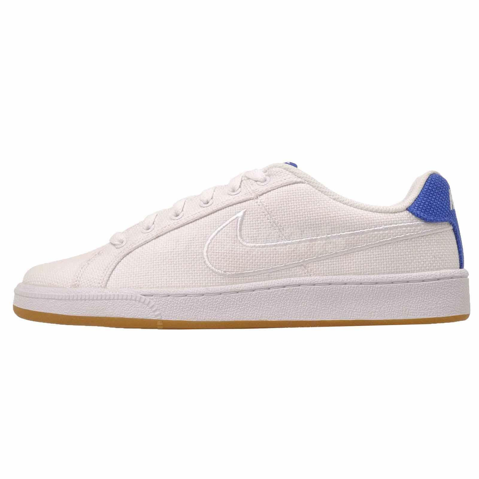 Nike Court Royale Prem Casual Uomo Shoes White Blue 805556-101