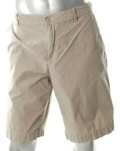 ALFANI-BEIGE-KHAKI-STRIPE-SHORTS-SIZE-44-WAIST-IMPORTED-FROM-USA