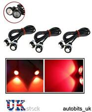 6 PC auto moto van 10W LED Rosso Coda Luce Eagle Eye marcia diurna DRL backup