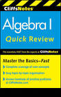 CliffsNotes Algebra I Quick Review by Edward Kohn, Jerry Bobrow (Paperback, 2011)