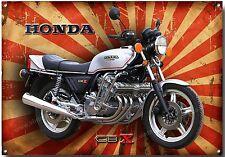 Item 6 HONDA CBX 1000 MOTORCYCLE METAL SIGNCLASSIC JAPANESE CLASSIC MOTORCYCLESRETRO