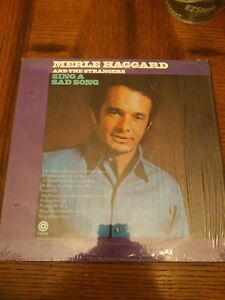 """MERLE HAGGARD And THE STRANGERS-Sing A Sad Song- 12"""" Vinyl Record in the Shrink"""