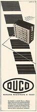 W2568 Vernici e smalti Duco e Dulox - Pubblicità 1938 - Old advertising