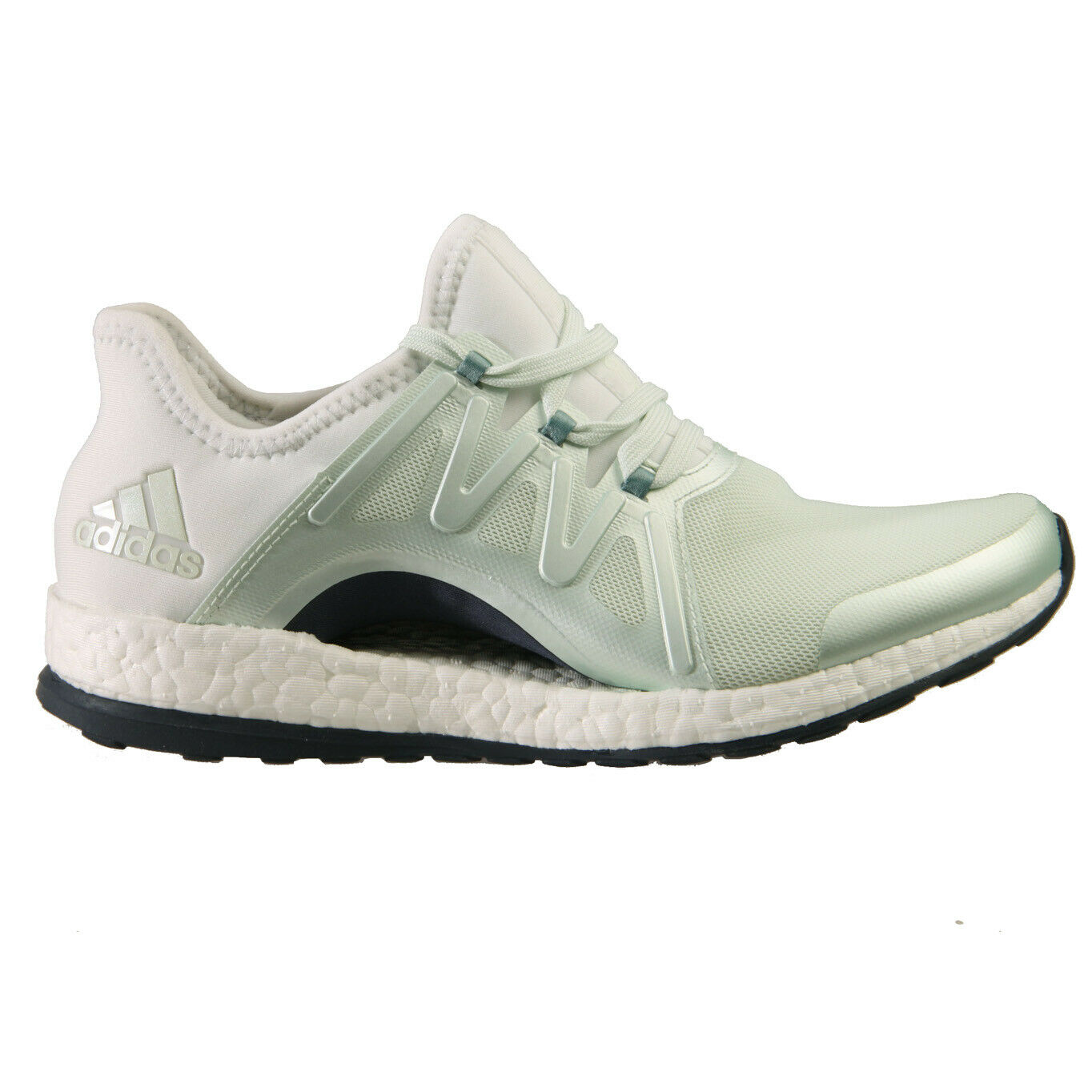 Adidas Pure Boost Xpose Womens BB1732 Linen Green Steel Running shoes Size 9