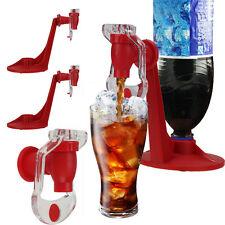 2x Red Fizz Soda Saver Dispenser Bottle Drinking Water Dispense Machine Gadget
