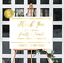 Thank you sign //// wedding prints //// gold foil //// gold wedding //// thank you ////