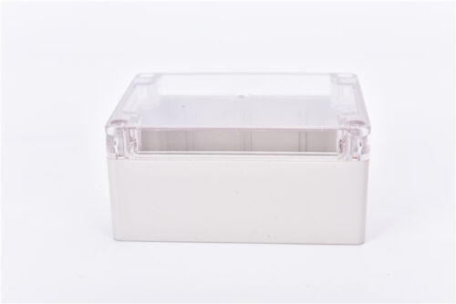 Waterproof 115*90*55MM Clear Cover Plastic Electronic Project Box Enclosure RU
